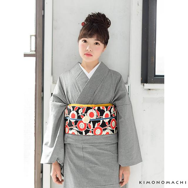 木綿着物モデル画像